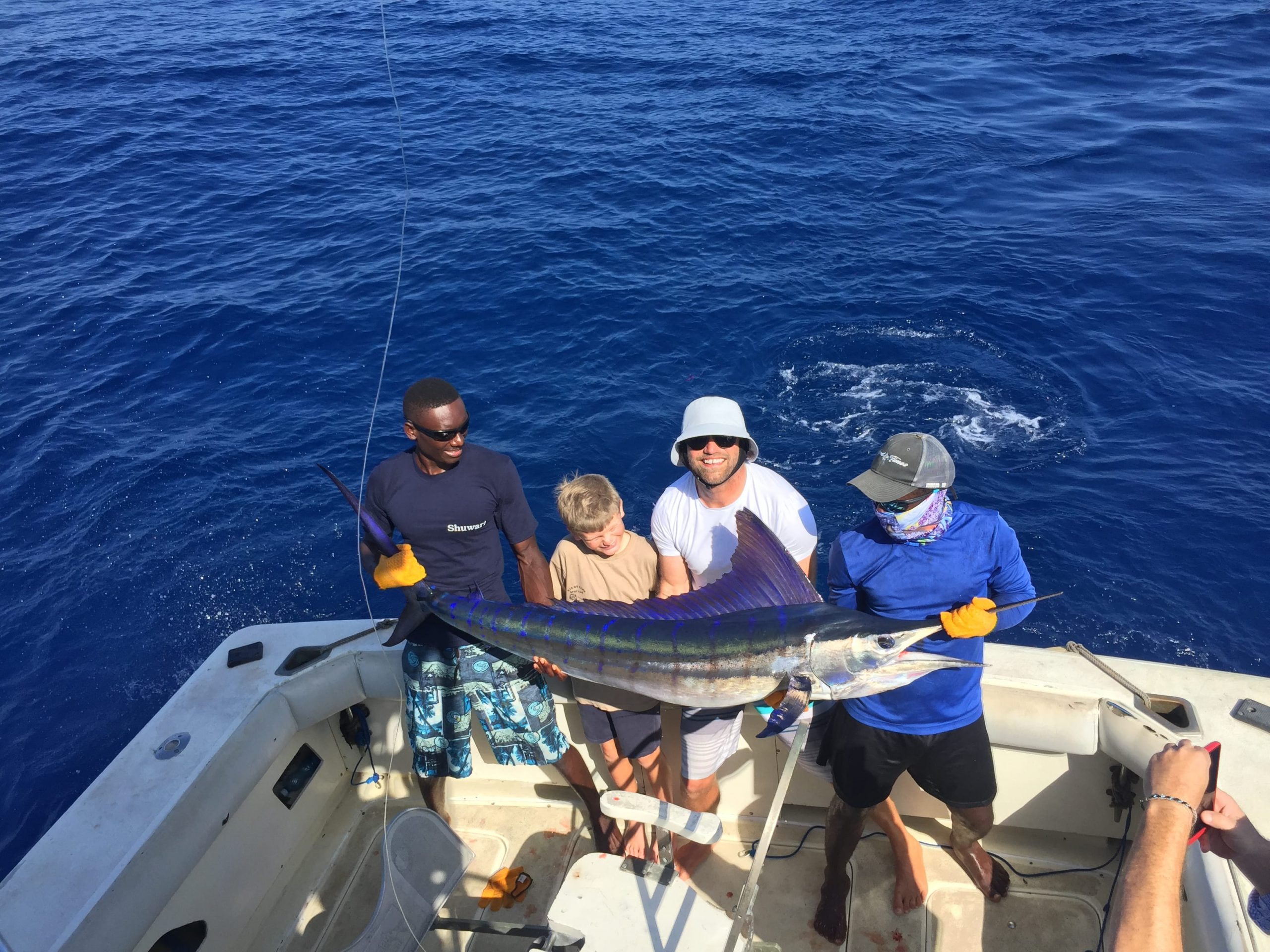 Tag and release marlin diani