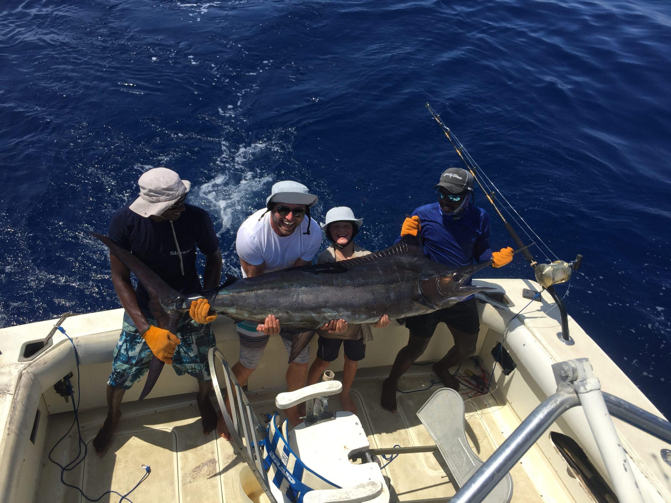 deep sea fishing tag and release Kenya