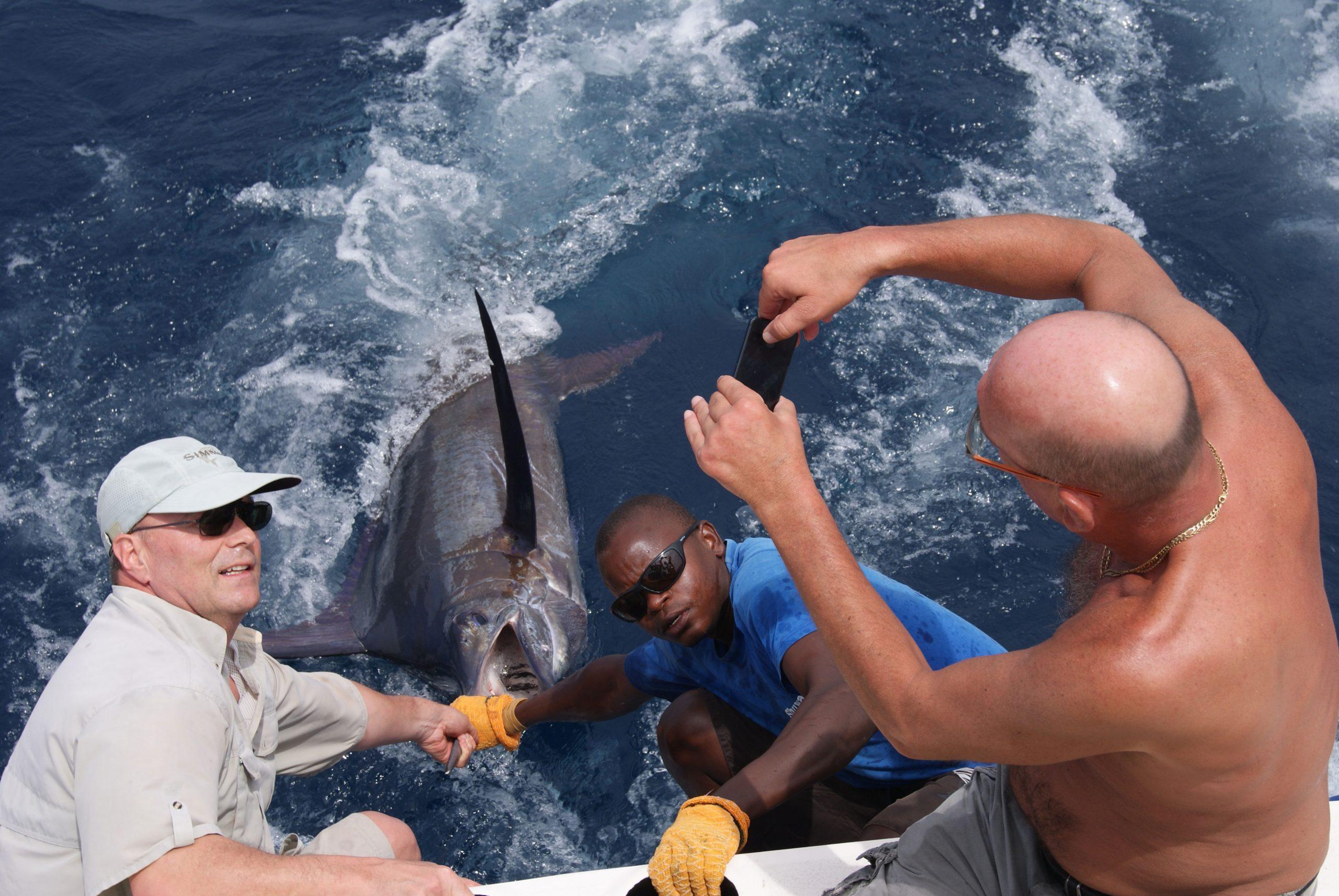 deep sea fishing Diani Kenya